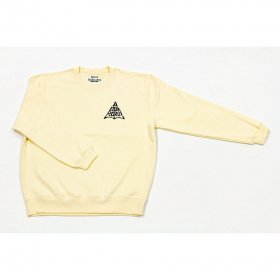 <img class='new_mark_img1' src='https://img.shop-pro.jp/img/new/icons5.gif' style='border:none;display:inline;margin:0px;padding:0px;width:auto;' />*ALIVE INDUSTRY - ACCORCROW CREW NECK - CREAM