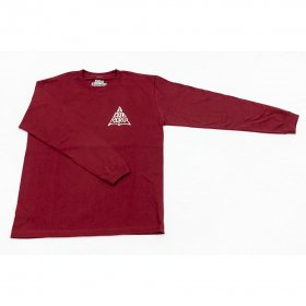 <img class='new_mark_img1' src='//img.shop-pro.jp/img/new/icons5.gif' style='border:none;display:inline;margin:0px;padding:0px;width:auto;' />*ALIVE INDUSTRY - ACCORCROW LONG SLEEVE - BURGUNDY