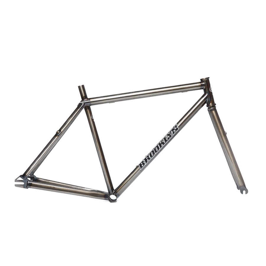 BROOKLYN MACHINE WORKS - GANGSTA V4 FRAME & FORK - TRANS BLACK