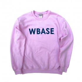 <img class='new_mark_img1' src='https://img.shop-pro.jp/img/new/icons5.gif' style='border:none;display:inline;margin:0px;padding:0px;width:auto;' />W-BASE - WARMY LOGO - CREW NECK SWEAT - SAKURA
