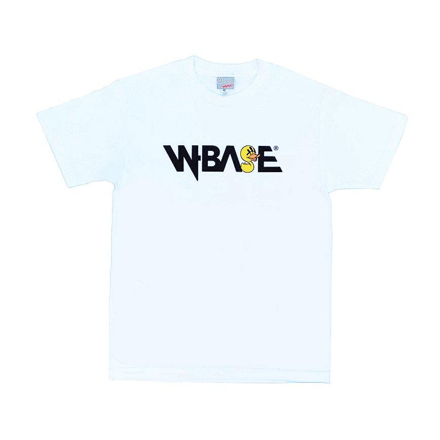 KAZZROCK × W-BASE - OG DUCKLE TEE - WHITE