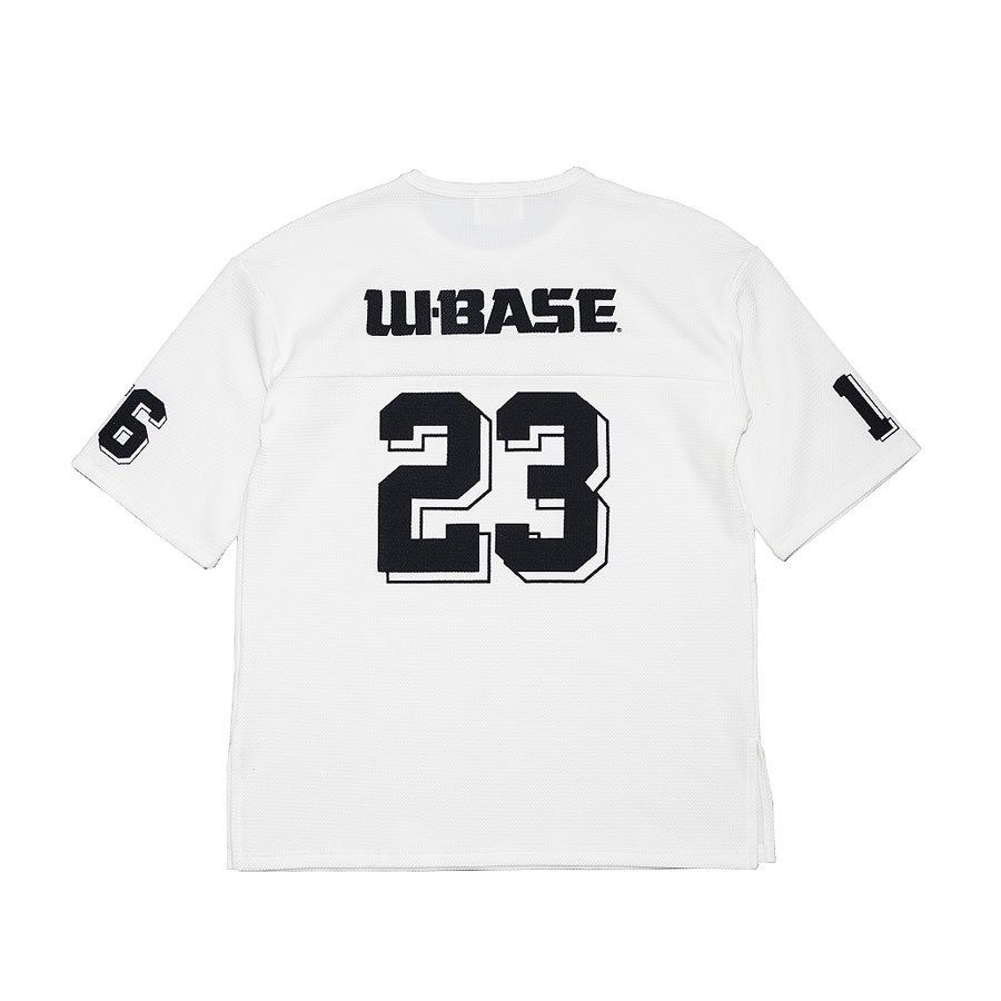 <img class='new_mark_img1' src='//img.shop-pro.jp/img/new/icons20.gif' style='border:none;display:inline;margin:0px;padding:0px;width:auto;' />W-BASE×FAKIE STANCE Tee White
