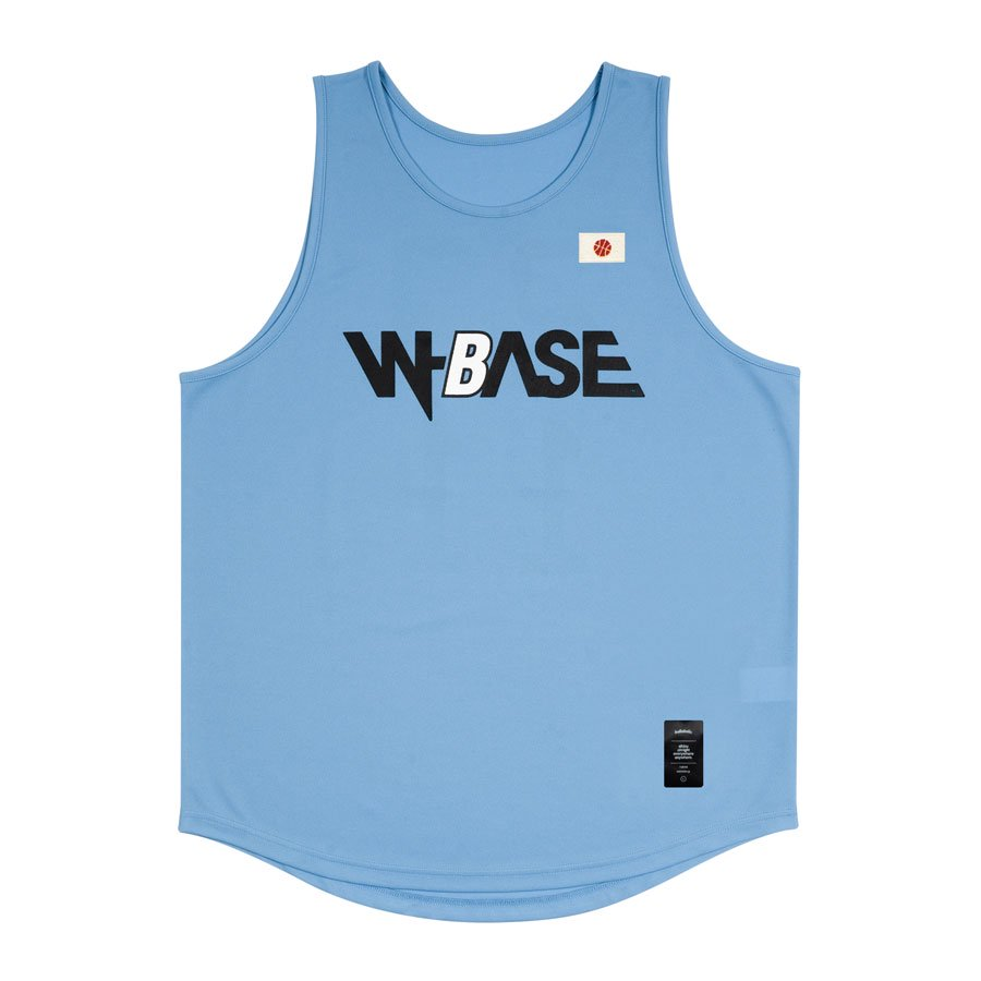 W-BASE x ballaholic - TankTop - SAX<img class='new_mark_img2' src='//img.shop-pro.jp/img/new/icons15.gif' style='border:none;display:inline;margin:0px;padding:0px;width:auto;' />