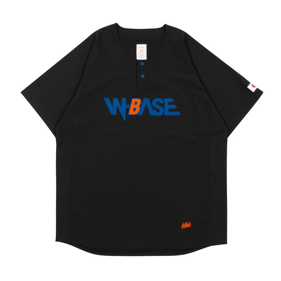 <img class='new_mark_img1' src='https://img.shop-pro.jp/img/new/icons20.gif' style='border:none;display:inline;margin:0px;padding:0px;width:auto;' />W-BASE x ballaholic - BALL Shirts - BLACK