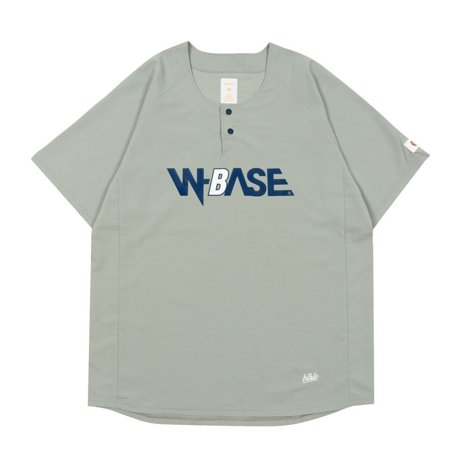 W-BASE x ballaholic - BALL Shirts - GRAY