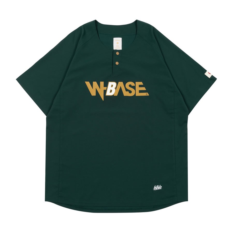 <img class='new_mark_img1' src='//img.shop-pro.jp/img/new/icons20.gif' style='border:none;display:inline;margin:0px;padding:0px;width:auto;' />W-BASE x ballaholic - BALL Shirts - DARK GREEN