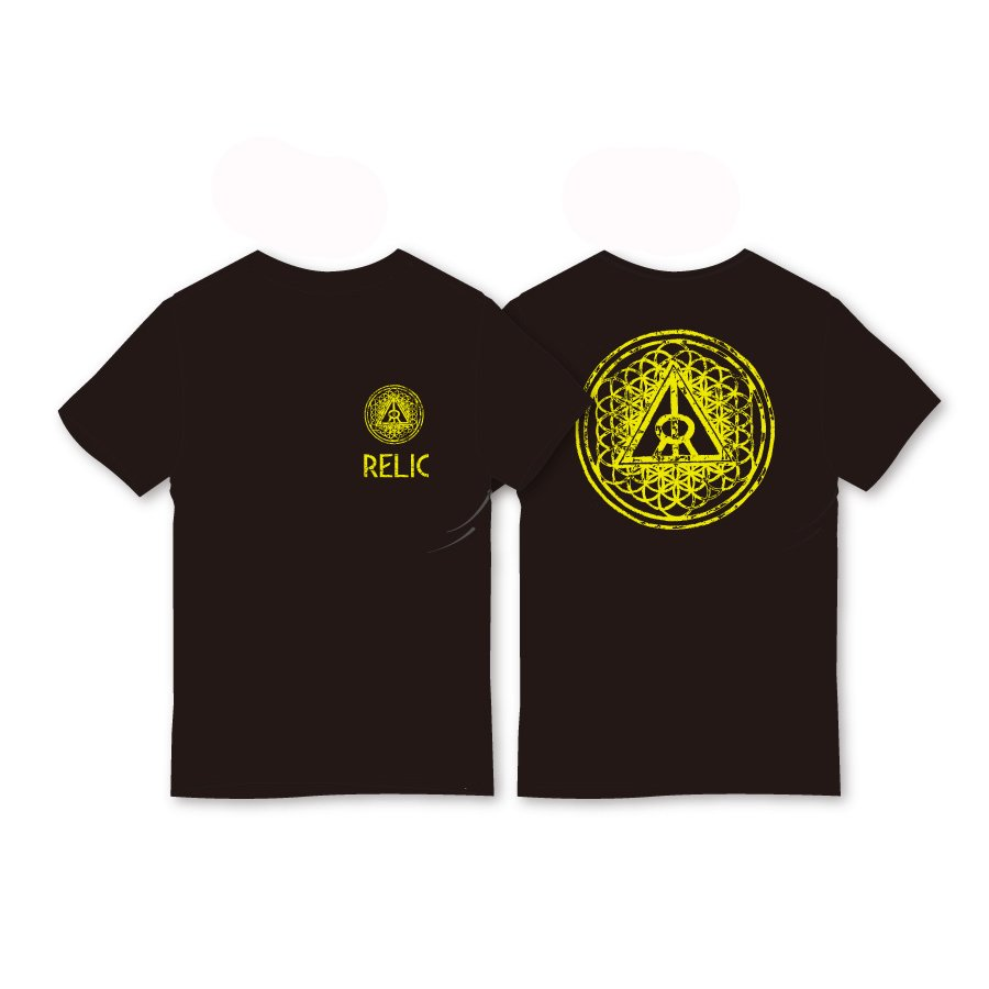 *RELIC - CREATION T-SHIRT - BLACK<img class='new_mark_img2' src='//img.shop-pro.jp/img/new/icons15.gif' style='border:none;display:inline;margin:0px;padding:0px;width:auto;' />