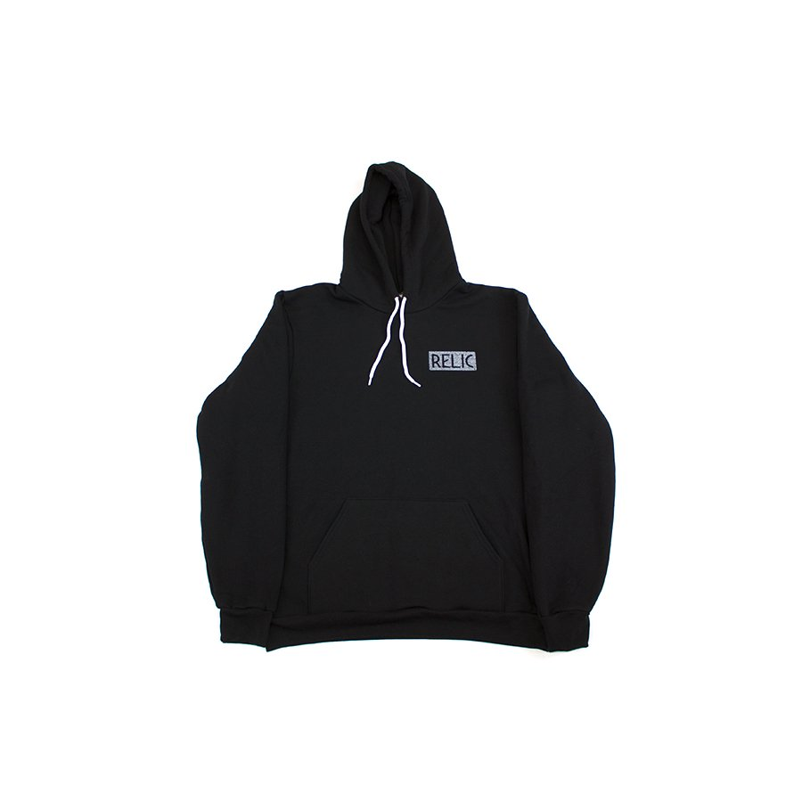<img class='new_mark_img1' src='https://img.shop-pro.jp/img/new/icons5.gif' style='border:none;display:inline;margin:0px;padding:0px;width:auto;' />*RELIC - CRESENT ZIP UP HOODY - BLACK