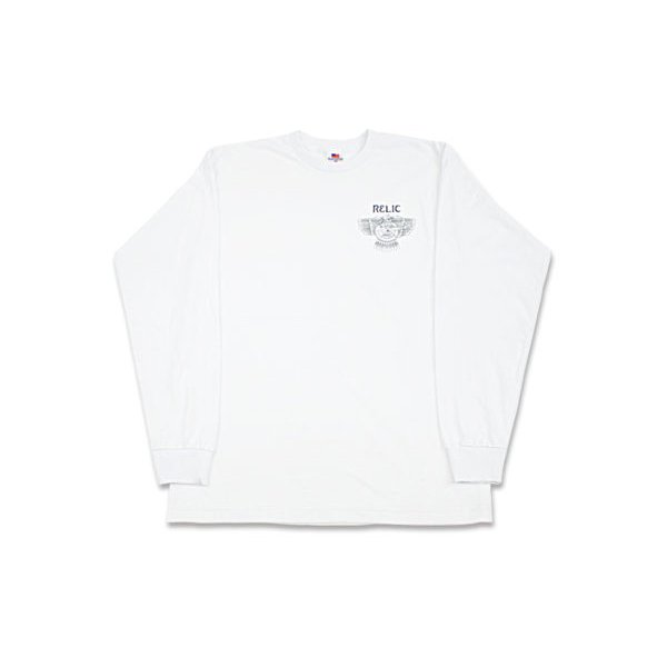 <img class='new_mark_img1' src='//img.shop-pro.jp/img/new/icons5.gif' style='border:none;display:inline;margin:0px;padding:0px;width:auto;' />*RELIC - ARCHER LONG SLEEVE - WHITE