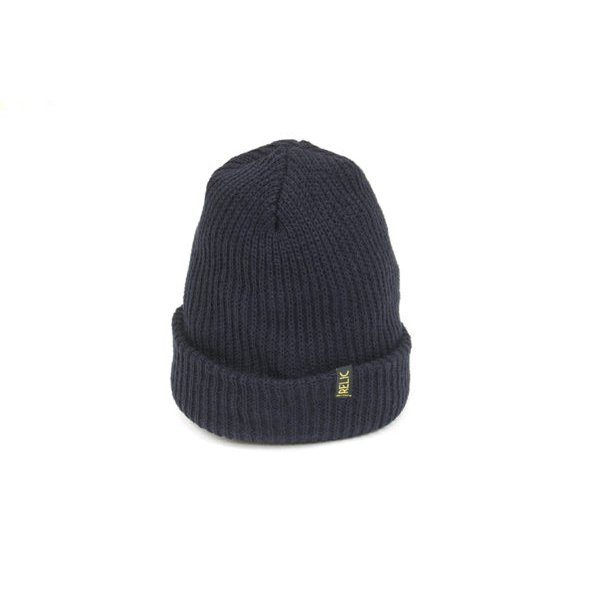 *RELIC - BEANIE - NAVY<img class='new_mark_img2' src='https://img.shop-pro.jp/img/new/icons15.gif' style='border:none;display:inline;margin:0px;padding:0px;width:auto;' />