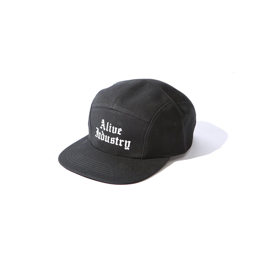 *ALIVE INDUSTRY - 800 CAP - BLACK<img class='new_mark_img2' src='https://img.shop-pro.jp/img/new/icons15.gif' style='border:none;display:inline;margin:0px;padding:0px;width:auto;' />