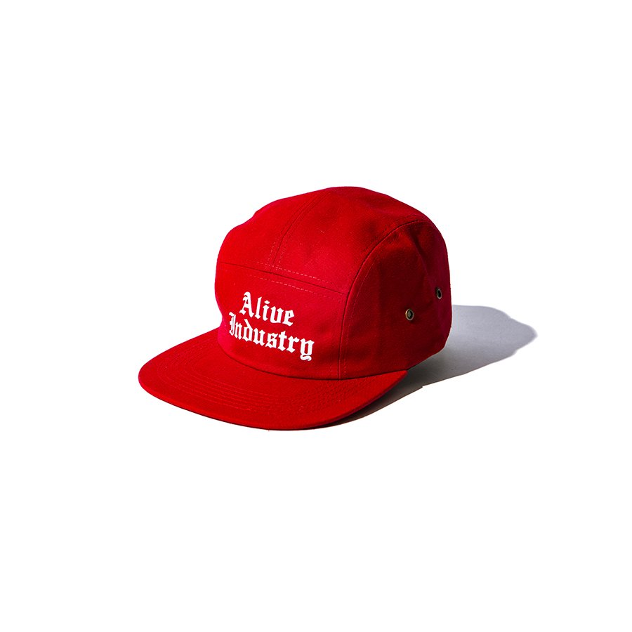 *ALIVE INDUSTRY - 800 CAP - RED<img class='new_mark_img2' src='https://img.shop-pro.jp/img/new/icons15.gif' style='border:none;display:inline;margin:0px;padding:0px;width:auto;' />