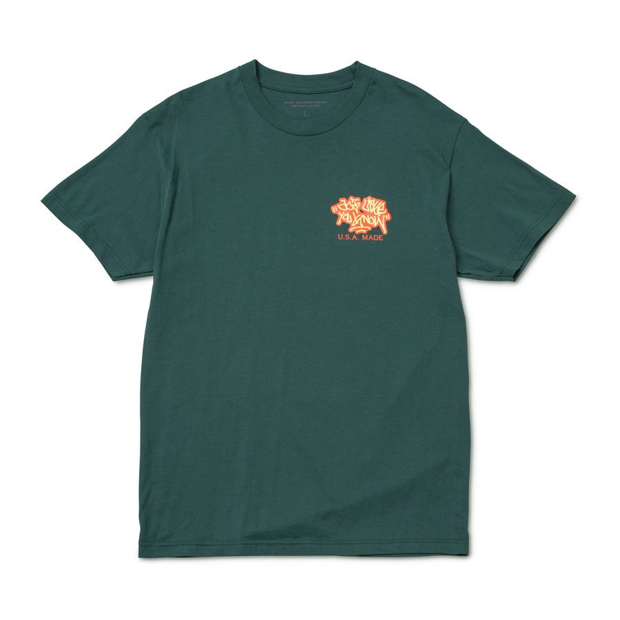 ALYK – Location Screen Printed T-Shirt/Green