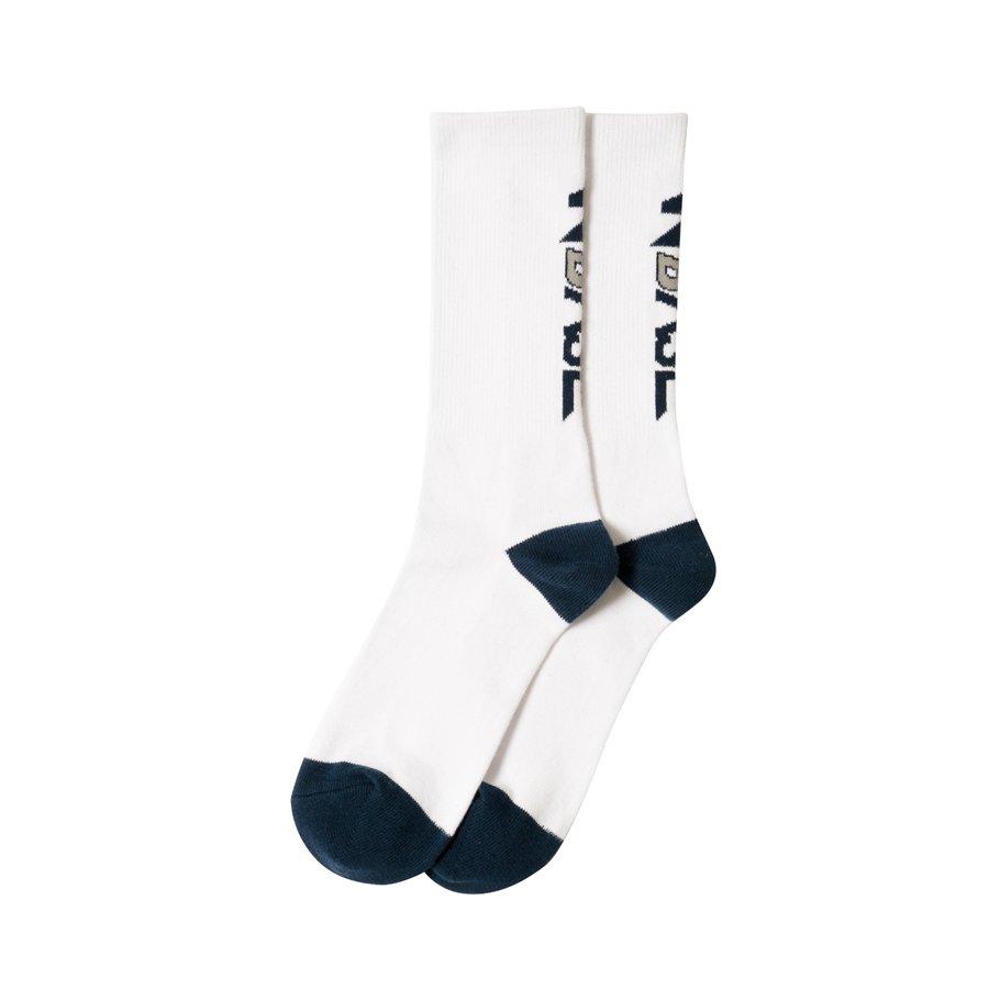W-BASE × ballaholic LOGO Socks WHITE