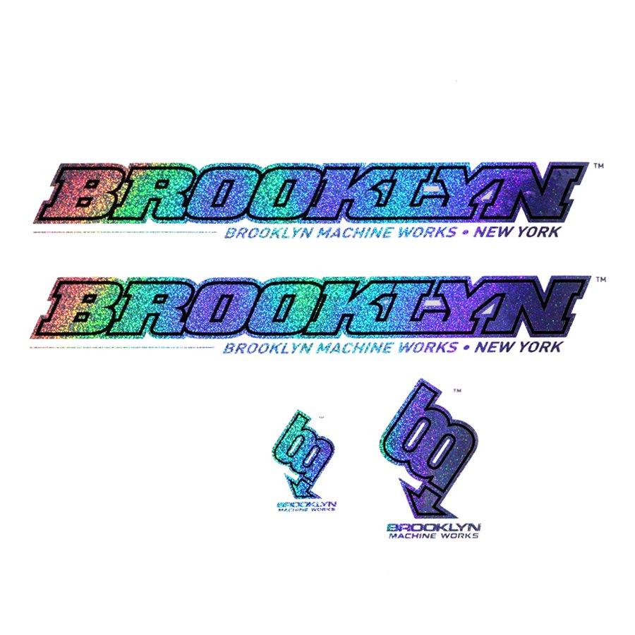 BROOKLYN MACHINE WORKS - STICKER SET - W-BASE 15TH ANNIVERSARY LIMITED EDITION - 限定50セット