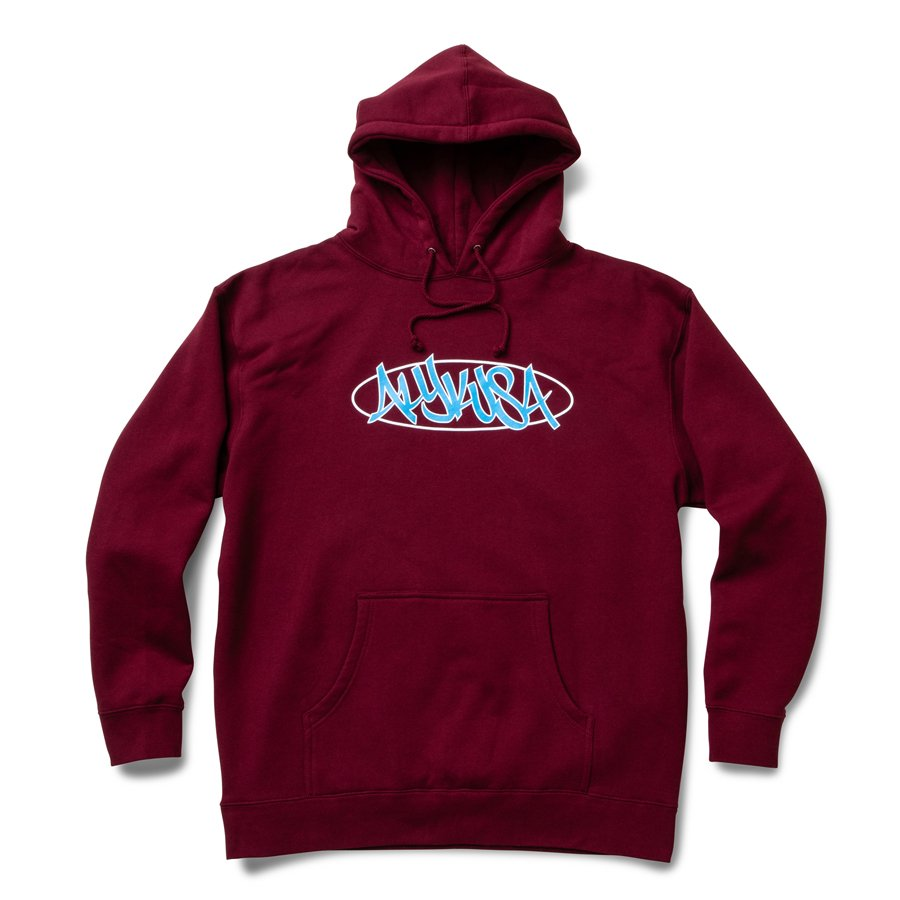 ALYK - That's Them Heavyweight Hooded Sweatshirt / Burgundy