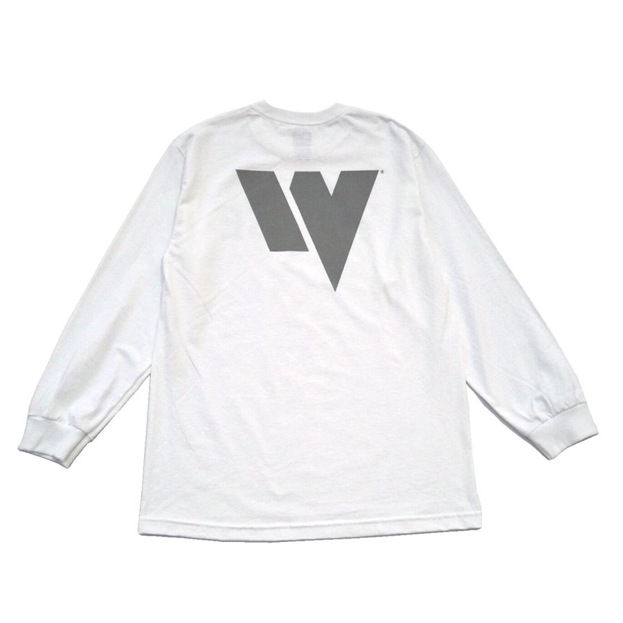 W-BASE - WARMY L/S TEE - WHITE