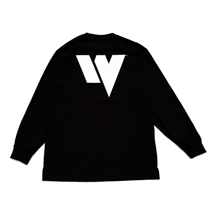 W-BASE - WARMY L/S TEE - BLACK