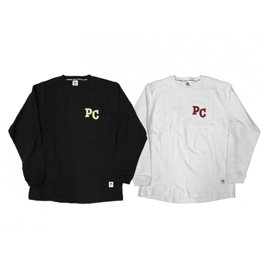 PANCAKE  APPLIQUE L/S TEE