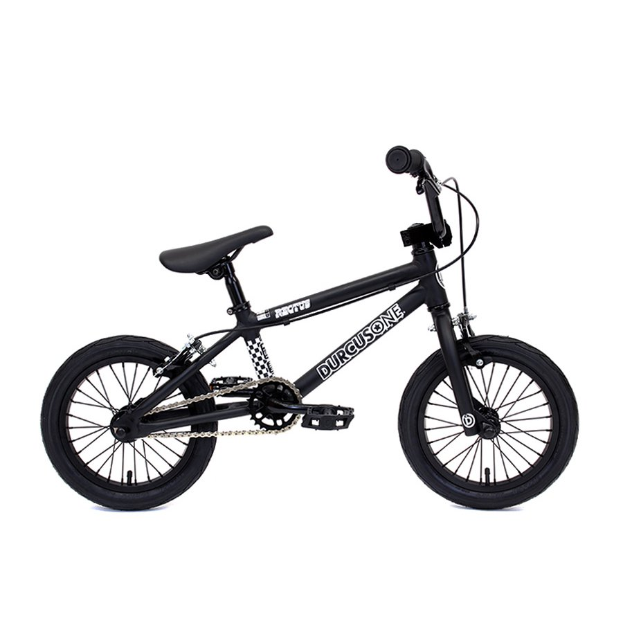 <img class='new_mark_img1' src='//img.shop-pro.jp/img/new/icons26.gif' style='border:none;display:inline;margin:0px;padding:0px;width:auto;' />DURCUS ONE - RECTUS 14 - KIDS BMX - MATT BLACK