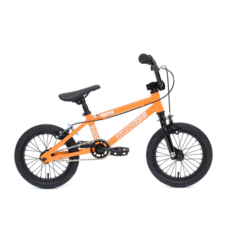 <img class='new_mark_img1' src='//img.shop-pro.jp/img/new/icons26.gif' style='border:none;display:inline;margin:0px;padding:0px;width:auto;' />DURCUS ONE - RECTUS 14 - KIDS BMX - ORANGE