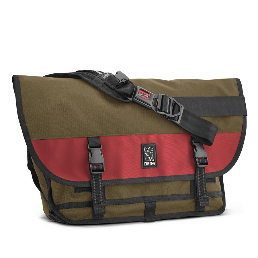 CHROME INDUSTRIES - CITIZEN MESSENGER BAG -OLVRED