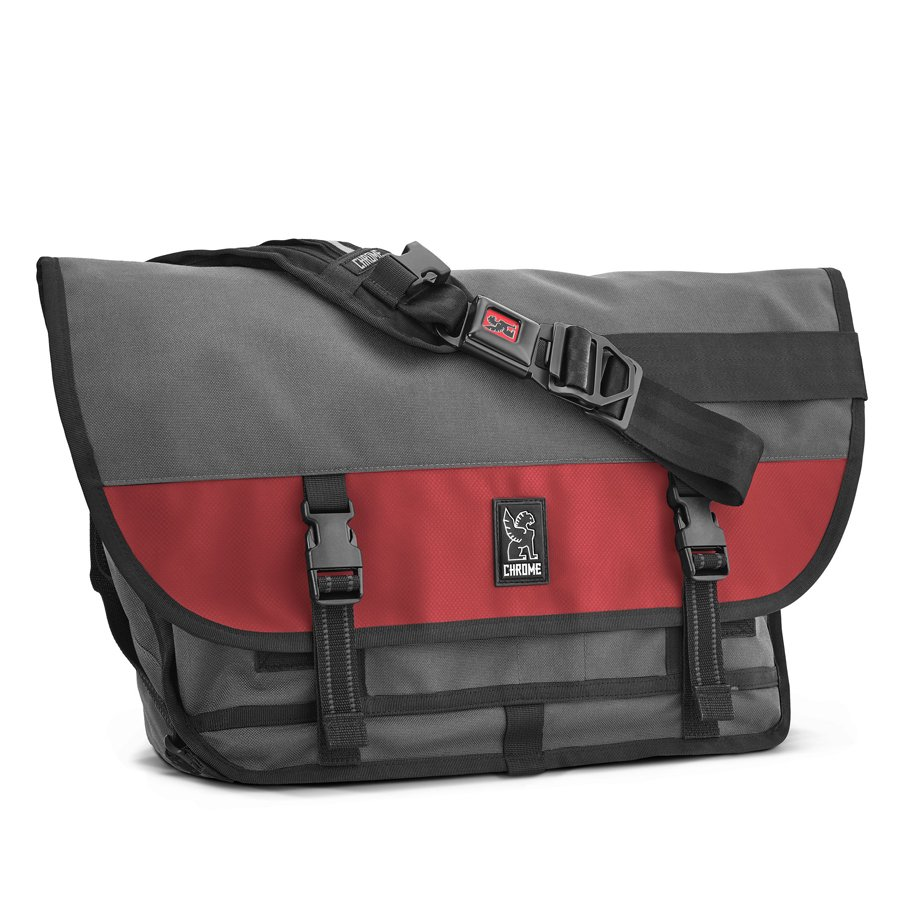 CHROME INDUSTRIES - CITIZEN MESSENGER BAG - GRYRED