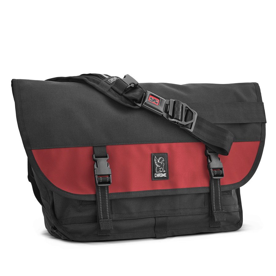 CHROME INDUSTRIES - CITIZEN MESSENGER BAG - BLKRED