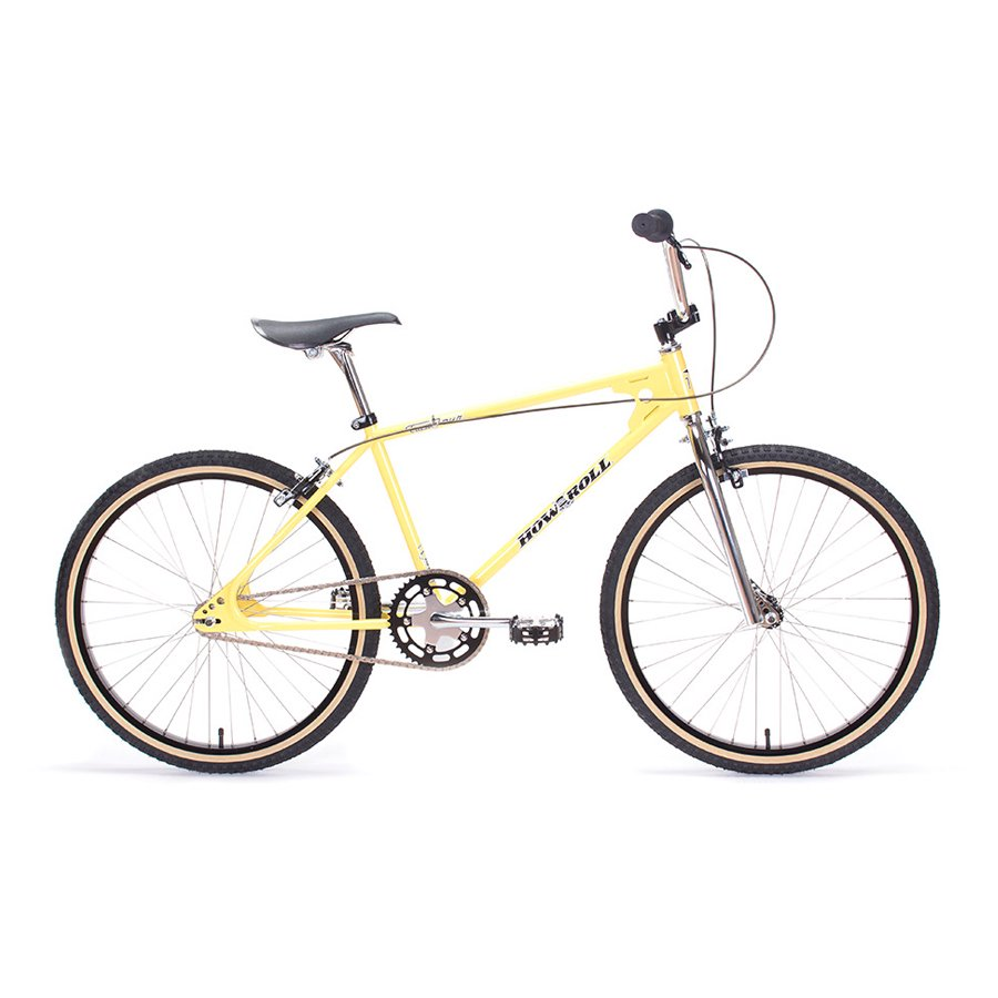 W-BASE LIMITED COLOR - T19 x HOW I ROLL - Two-Four - CREAM