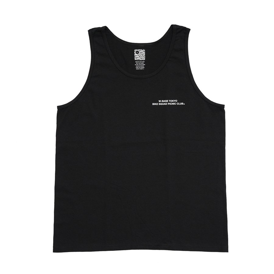 TSPC × W-BASE -  TANKTOP - BLACK