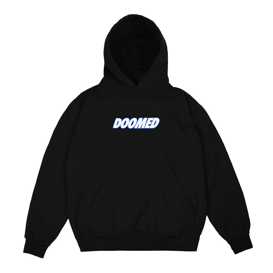 DOOMED - Textbook Hood - Black