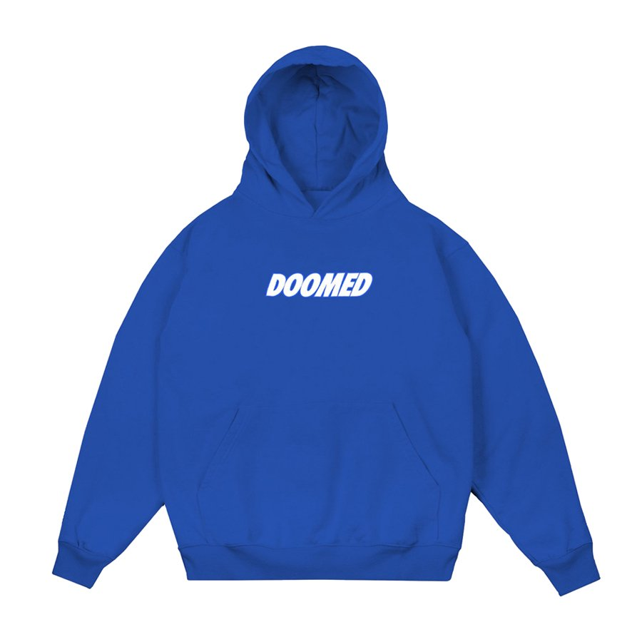 DOOMED - Textbook Hood - Royal Blue