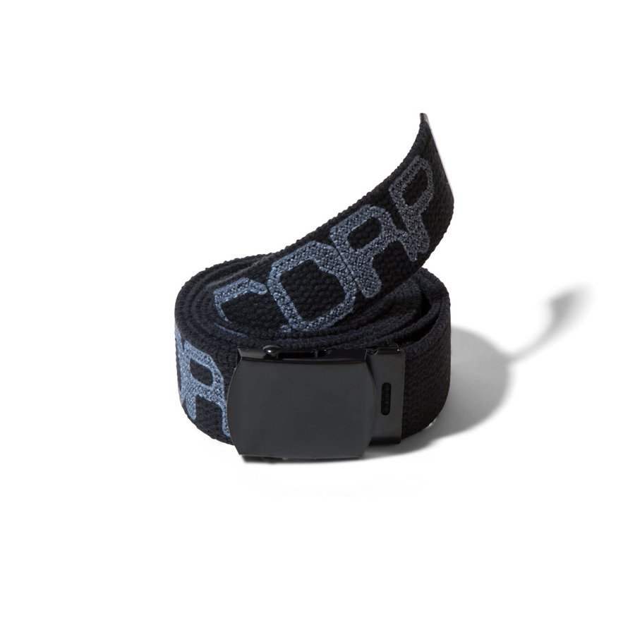 ACT LIKE YOU KNOW - ALYK.CORP DIGITAL MILITARY BELT - BLACK
