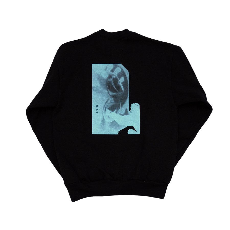 <img class='new_mark_img1' src='https://img.shop-pro.jp/img/new/icons26.gif' style='border:none;display:inline;margin:0px;padding:0px;width:auto;' />W-BASE - ur time  HEAVY OZ CREWNECK SWEAT - BLACK