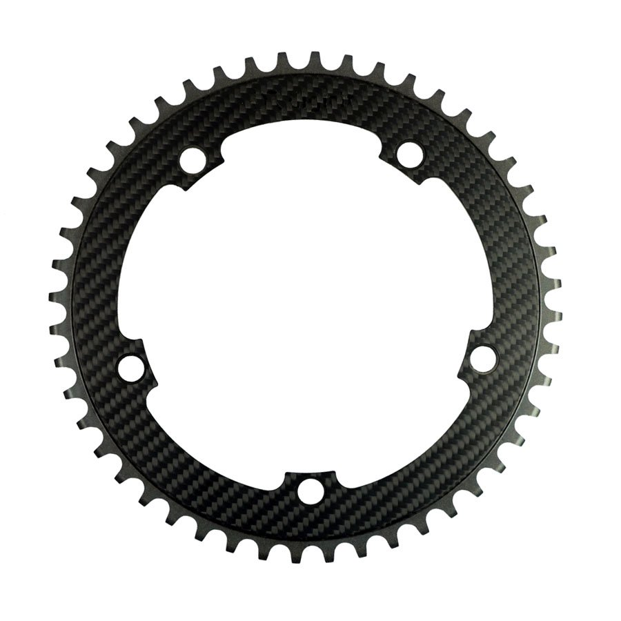 <img class='new_mark_img1' src='https://img.shop-pro.jp/img/new/icons1.gif' style='border:none;display:inline;margin:0px;padding:0px;width:auto;' />digirit - CARBON CHAINRING - 3K TRACK LIGHT
