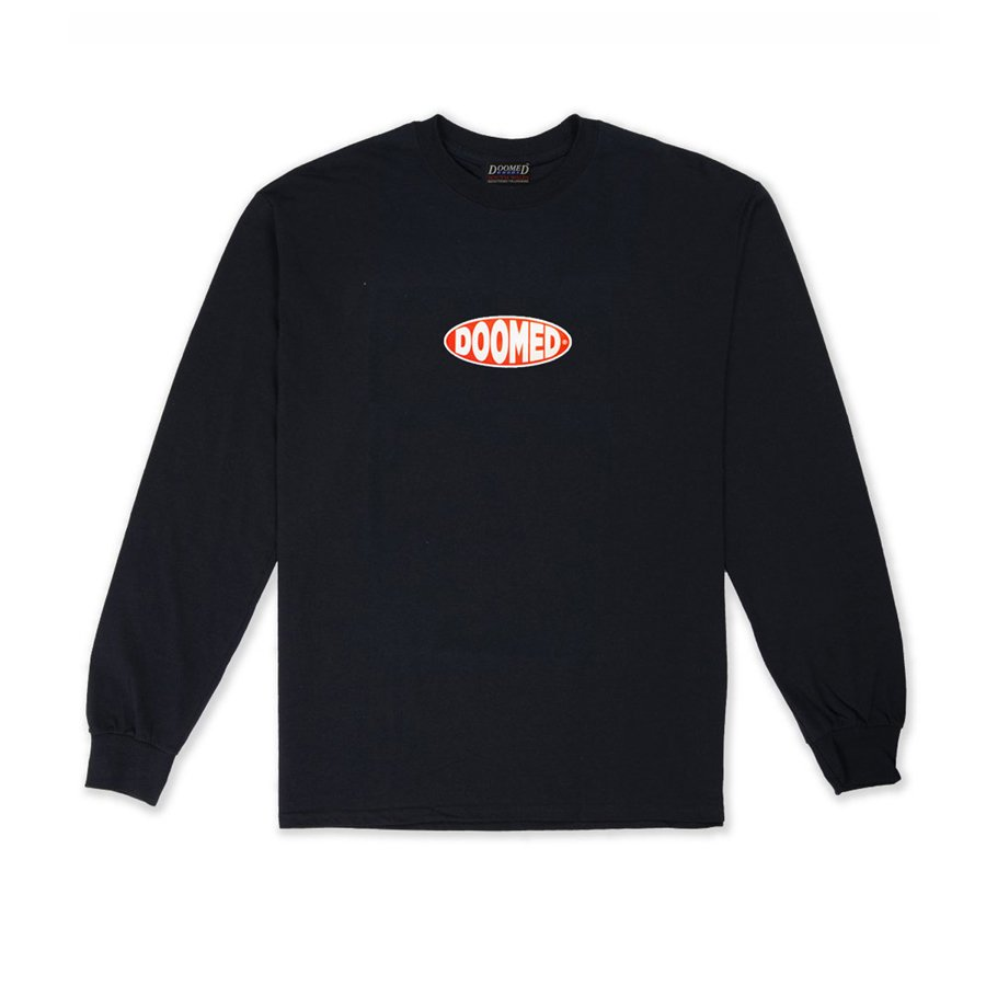 <img class='new_mark_img1' src='https://img.shop-pro.jp/img/new/icons5.gif' style='border:none;display:inline;margin:0px;padding:0px;width:auto;' />DOOMED - BULGE LONG SLEEVE/BLACK