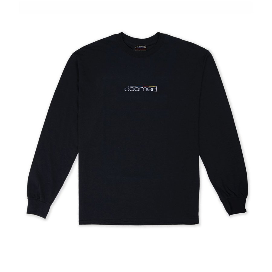 <img class='new_mark_img1' src='https://img.shop-pro.jp/img/new/icons5.gif' style='border:none;display:inline;margin:0px;padding:0px;width:auto;' />DOOMED - DOOMERTON LONG SLEEVE/BLACK