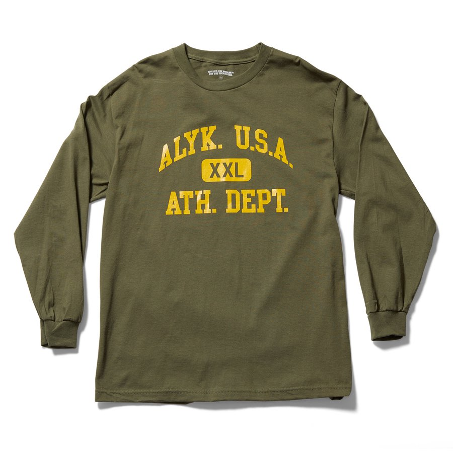 ACT LIKE YOU KNOW - 6TH PERIOD LONG SLEEVE T-SHIRT / ARMY GREEN