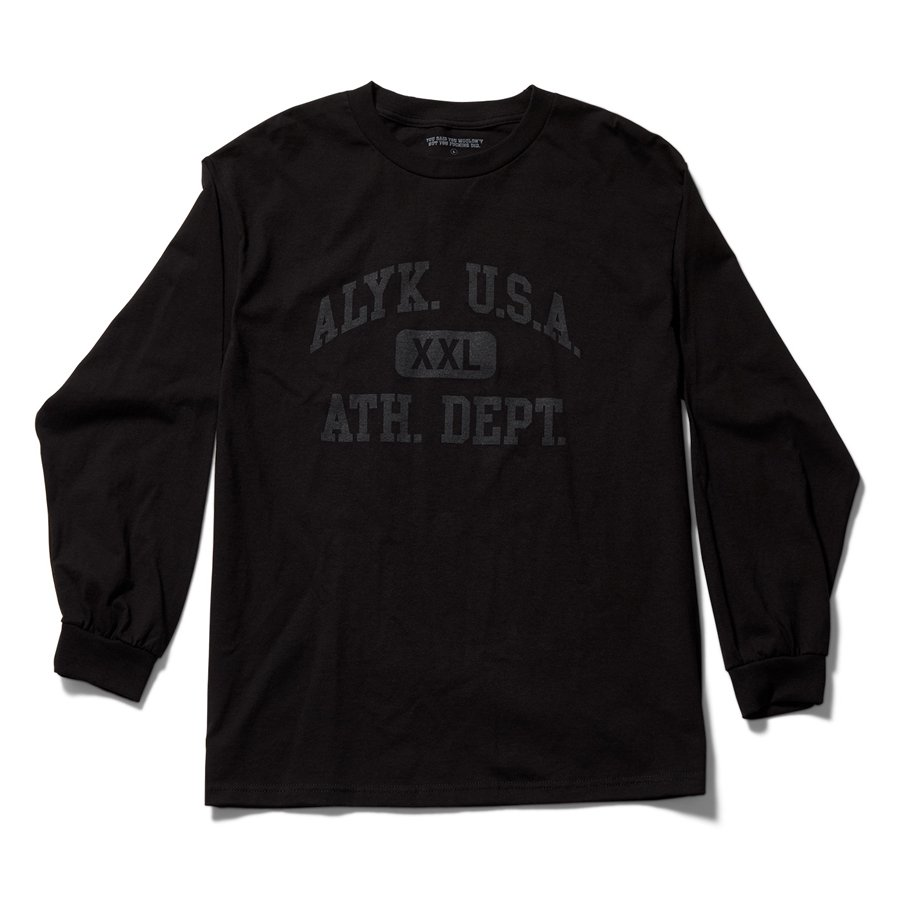 ACT LIKE YOU KNOW - 6TH PERIOD LONG SLEEVE T-SHIRT / BLACK