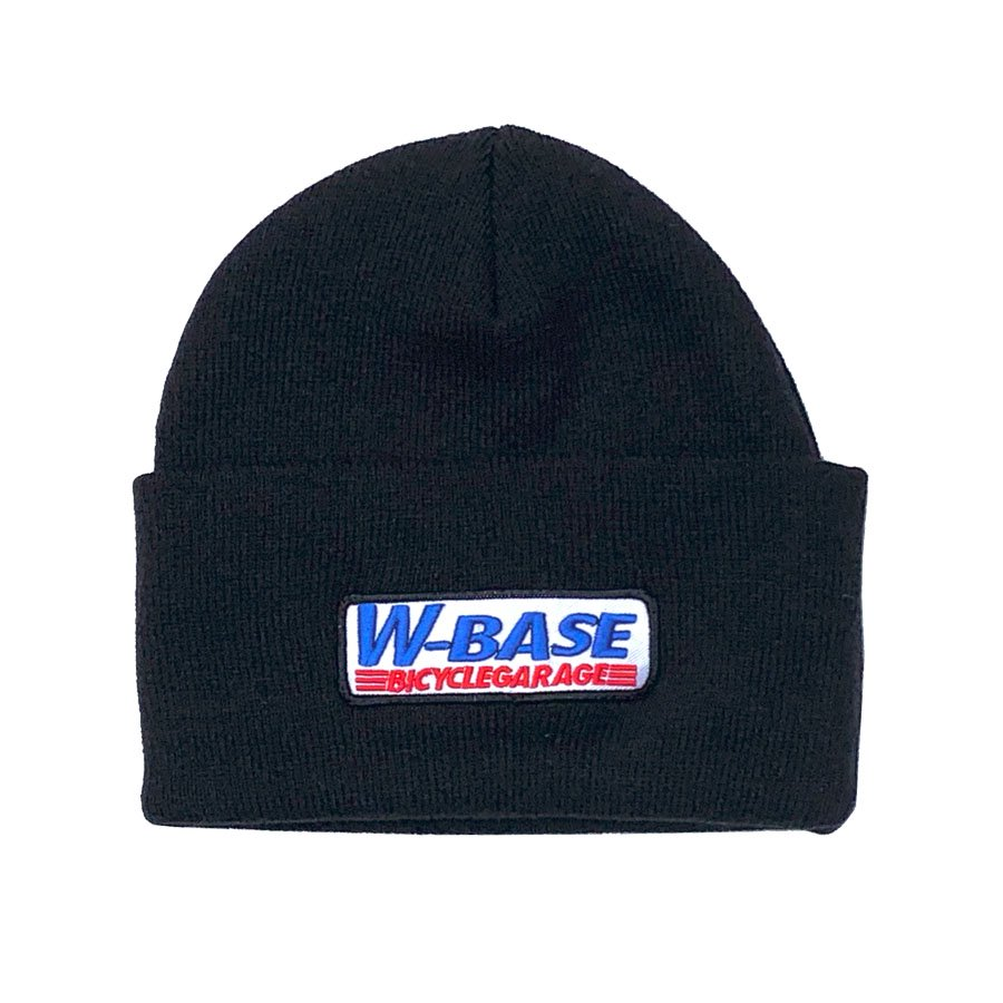 W-BASE - CONVOY LOGO PATCH BEANIE / BLACK