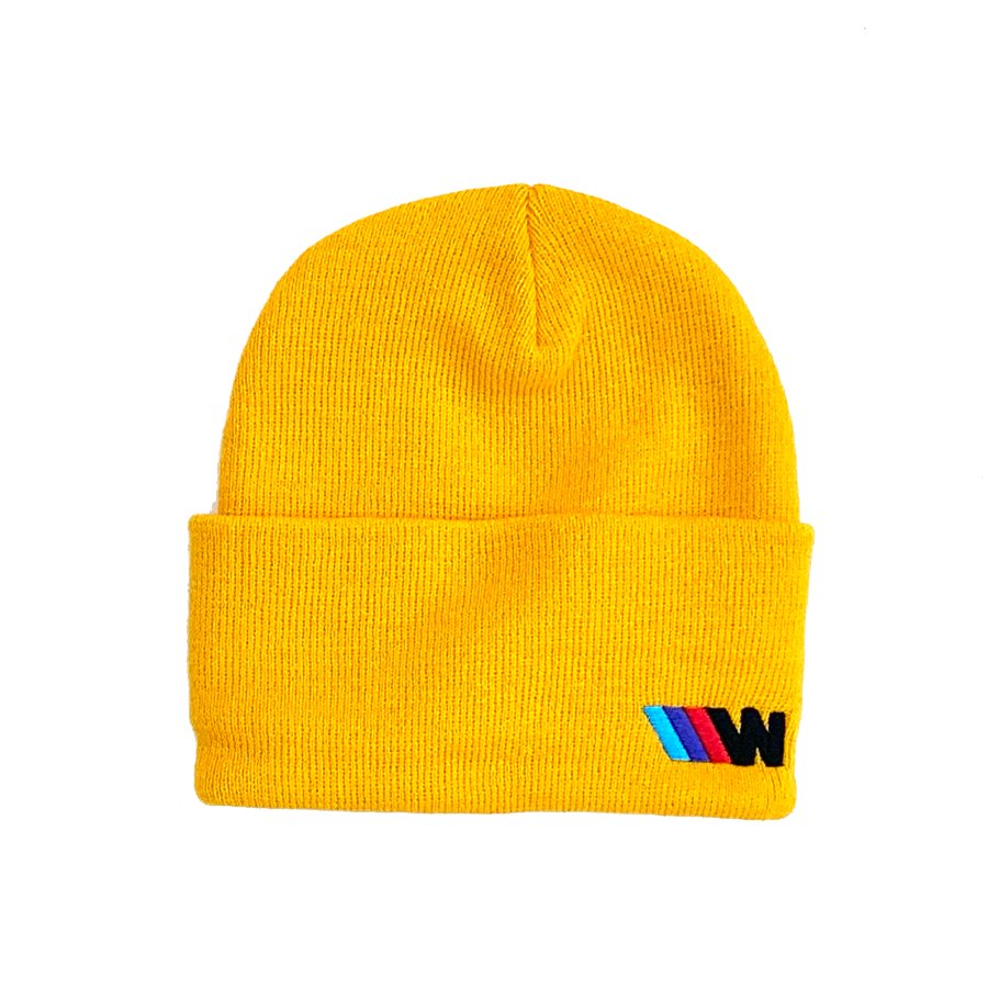 W-BASE - WPOWER BEANIE YELLOW