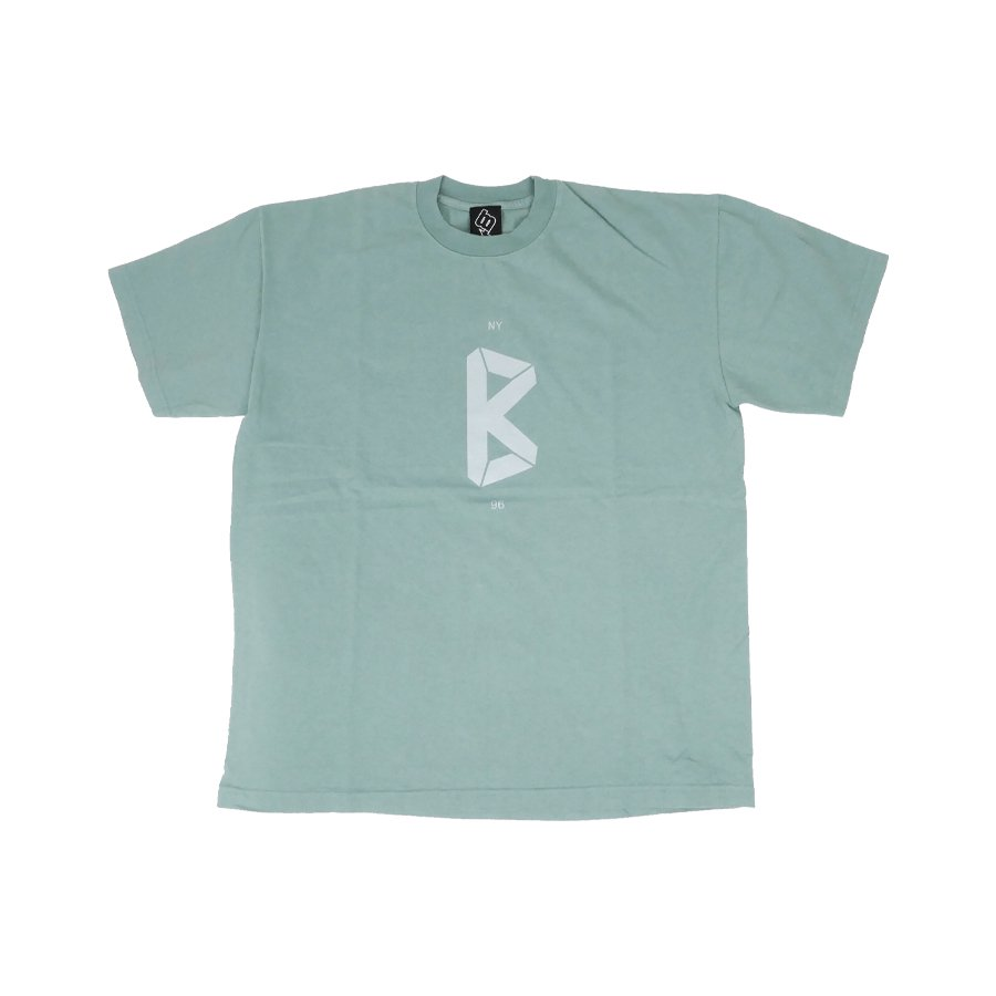 BROOKLYN MACHINE WORKS - B LOGO TEE - GREEN