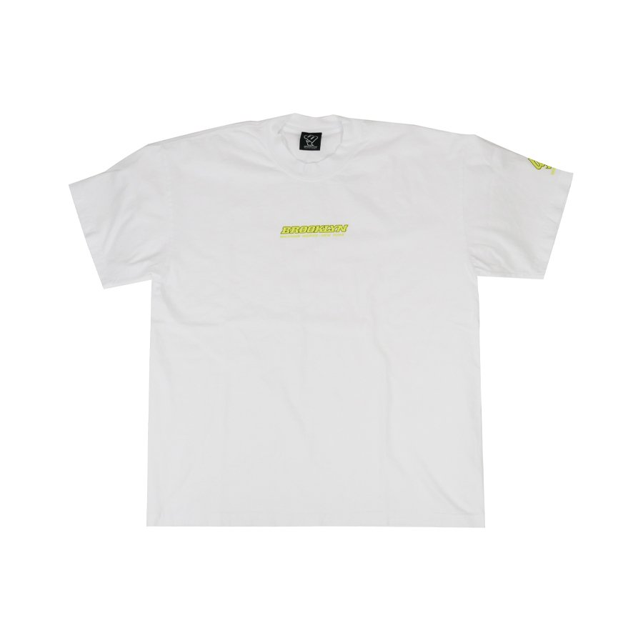 BROOKLYN MACHINE WORKS - BROOKLYN TEE - WHITE