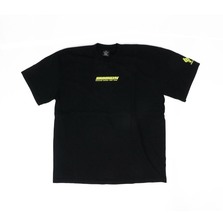 BROOKLYN MACHINE WORKS - BROOKLYN TEE - BLACK
