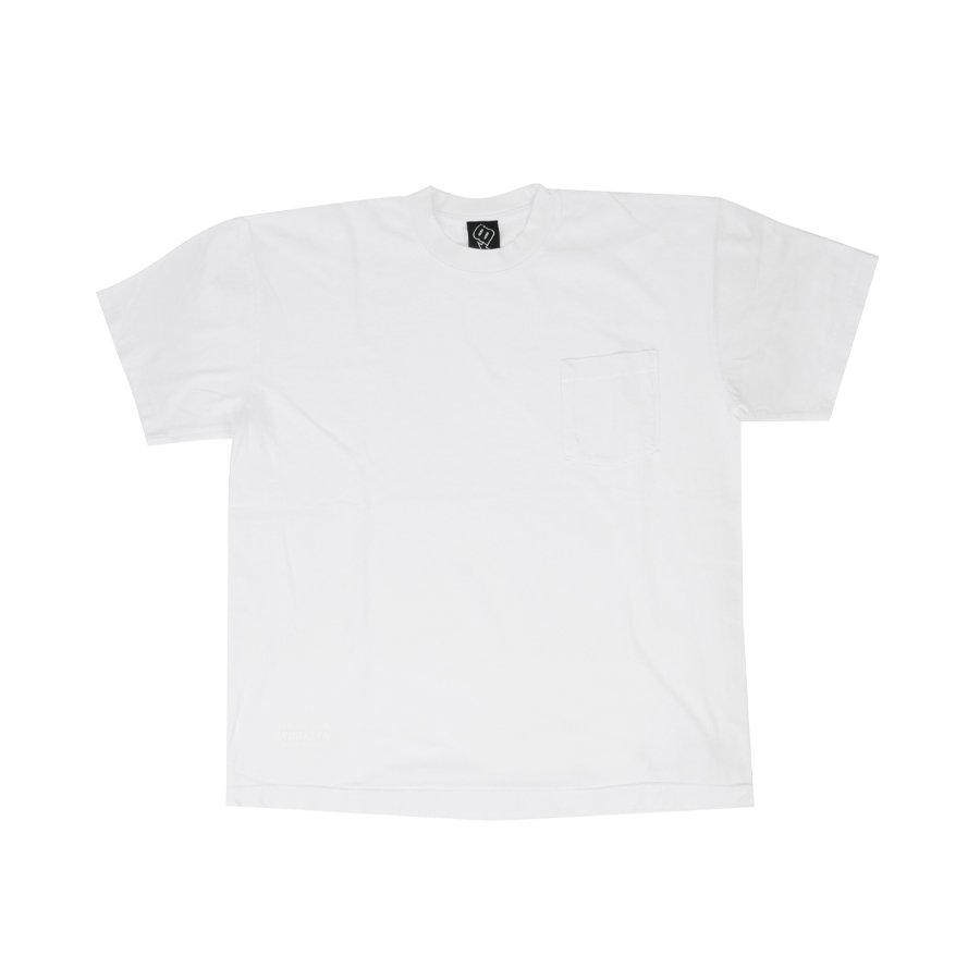 BROOKLYN MACHINE WORKS - BROOKLYN POCKET TEE - WHITE