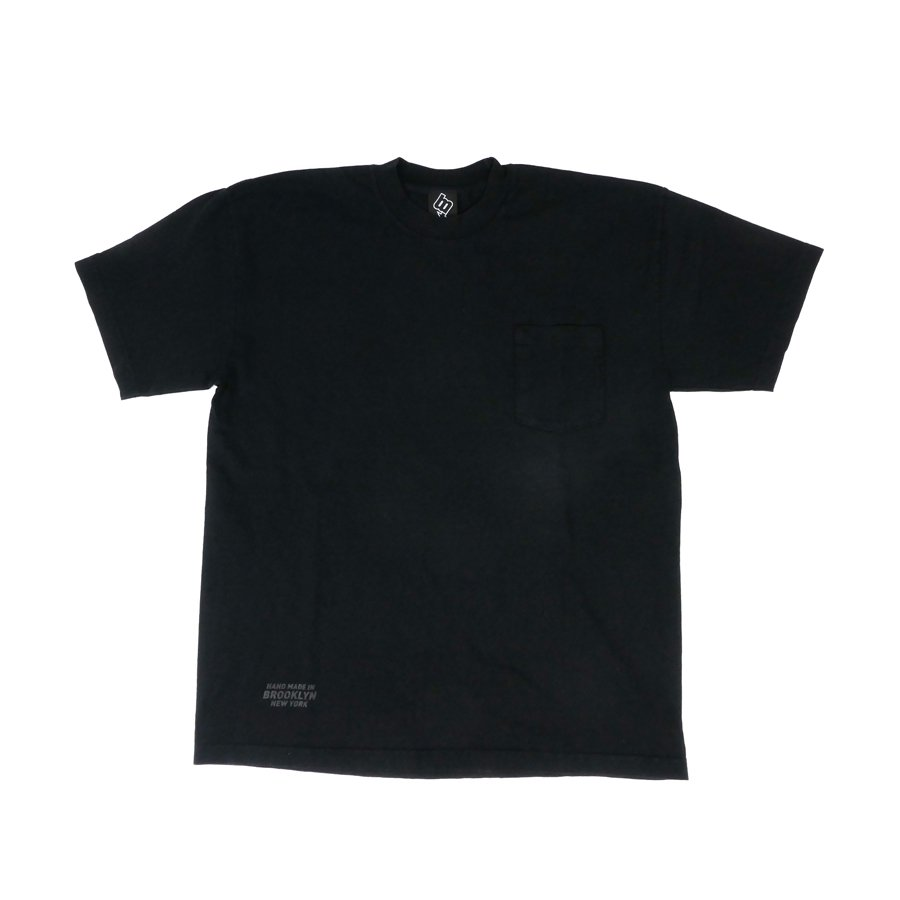 BROOKLYN MACHINE WORKS - BROOKLYN POCKET TEE - BLACK