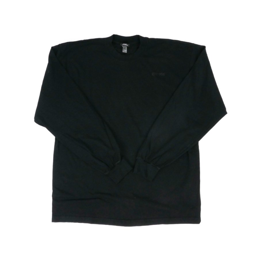 BROOKLYN MACHINE WORKS - BROOKLYN L/S TEE - BLACK