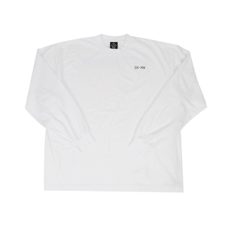 BROOKLYN MACHINE WORKS - BROOKLYN L/S TEE - WHITE