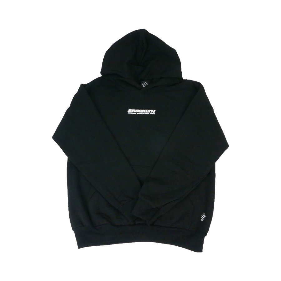 BROOKLYN MACHINE WORKS - BROOKLYN HOODY SWEAT - BLACK
