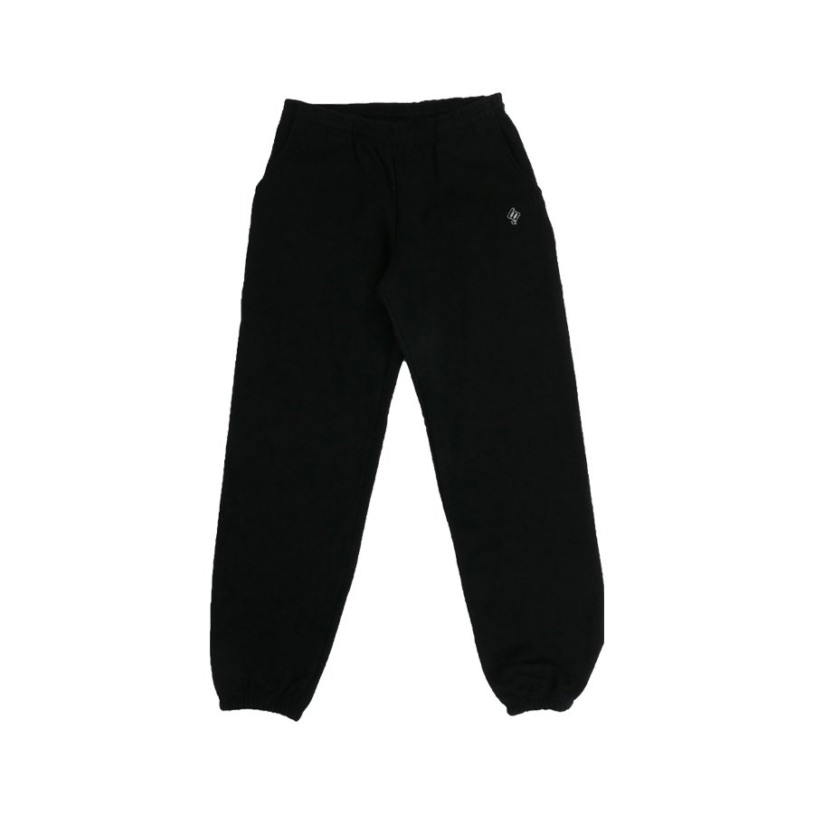 <img class='new_mark_img1' src='https://img.shop-pro.jp/img/new/icons8.gif' style='border:none;display:inline;margin:0px;padding:0px;width:auto;' />BROOKLYN MACHINE WORKS - BROOKLYN SWEAT PANTS - BLACK